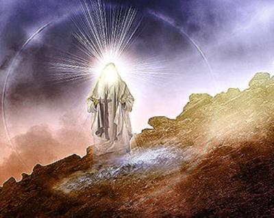 the angel Melchizedek   The Sage of Salem, Palestine