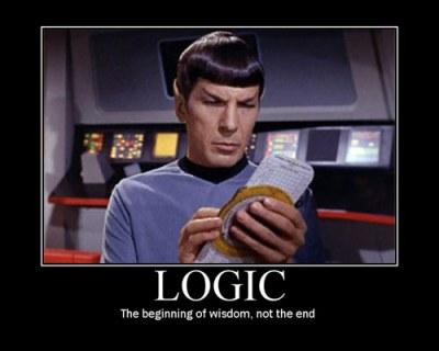 StarTrek, spock logic 500x400 30kb